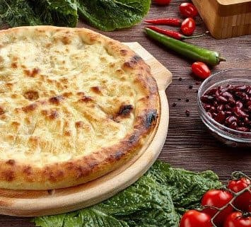 Осетинские пироги c фасолью и грецким орехом