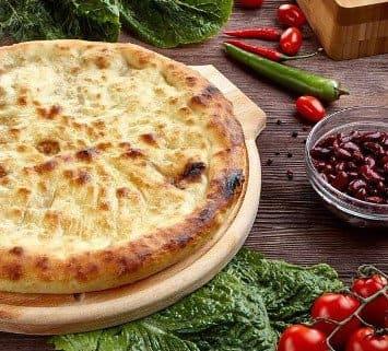Осетинские пироги c фасолью