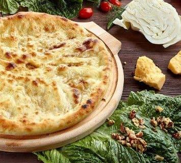 Осетинские пироги c капустой и грецким орехом