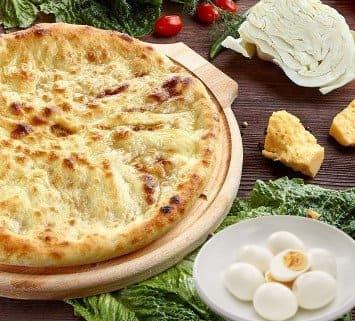Осетинские пироги c капустой и яйцом