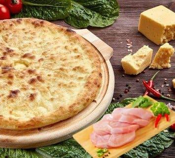 Осетинские пироги c курицей и сыром