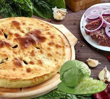 Осетинские пироги c мясом и капустой