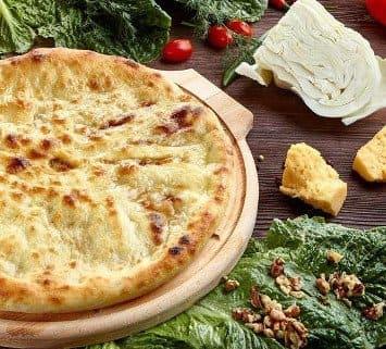 Осетинские пироги c сыром и капустой